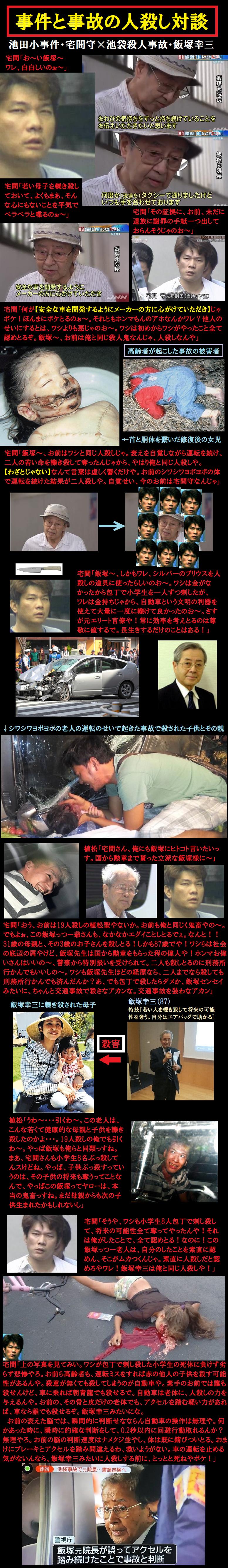 危険運転を繰り返す高齢者に運転免許を返納させる画像